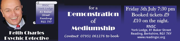 Keith Charles Demonstration of Mediumship
