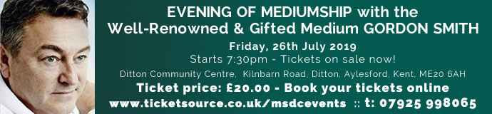 EVENING OF MEDIUMSHIP with the Well-Renowned & Gifted Medium