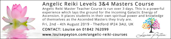 Angelic Reiki 3&4 Masters Course