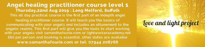 Angel healing practitioner course level 1
