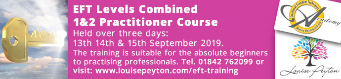 EFT Levels Combined 1&2 Practitioner Course