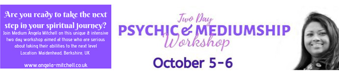 Two day Psychic & Mediumship Workshop
