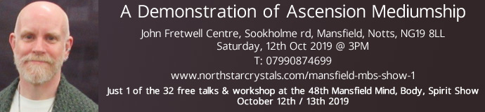 A Demonstration of Ascension Mediumship