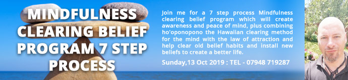 MINDFULNESS CLEARING BELIEF PROGRAM 7 STEP PROCESS