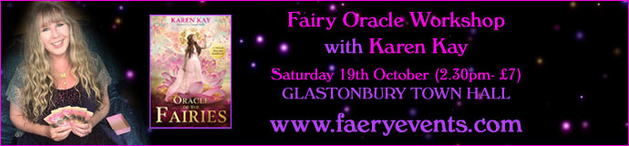 Glastonbury Fairy Workshop with Karen Kay