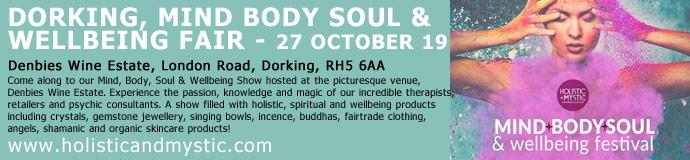 Dorking Mind, Body & Soul Show - 28th October 2018
