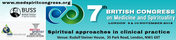 7th BRITISH CONGRESS MEDICINE SPIRITUALITY