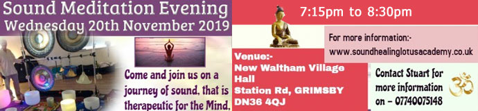 Sound Meditation Evening - Lincolnshire
