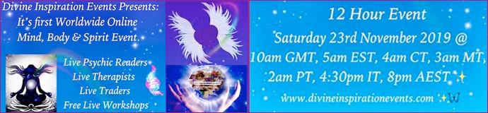 Worldwide Live Online Mind, Body & Spirit Event