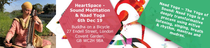 HeartSpace - Sound Meditation & Naad Yoga