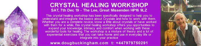 Crystal Healing Workshop