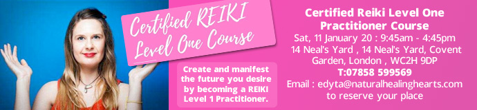 Certified Reiki Level One Practitioner Course