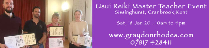Usui Reiki Master Teacher Event