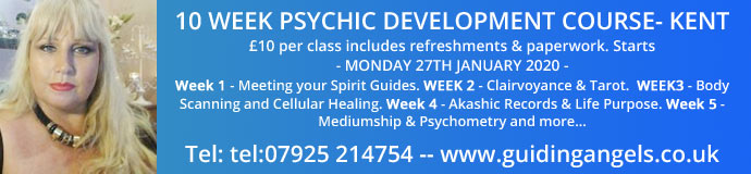 10 WEEK PSYCHIC DEVELOPMENT COURSE
