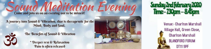 Gong Bath (Sound Meditation Evening)  - BLANDFORD