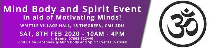 Mind Body and Spirit Event in aid of Motivating Minds