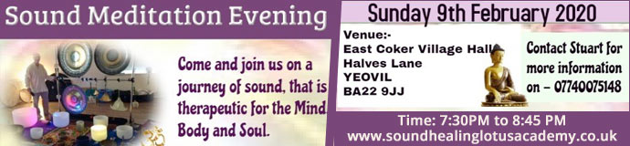 Gong Bath (Sound Meditation Evening) - YEOVIL