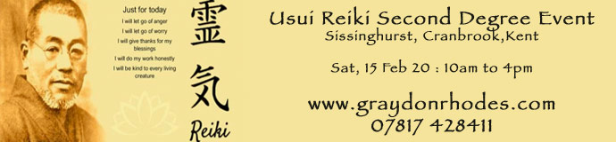 Usui Reiki Second Degree Event