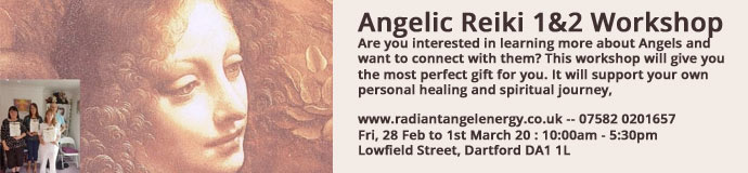 Angelic Reiki 1&2 Workshop