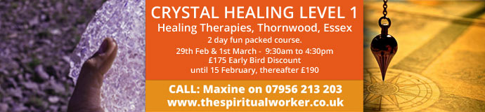 Crystal Healing Level 1  -  Saturday 29 Feb & Sunday 1 March