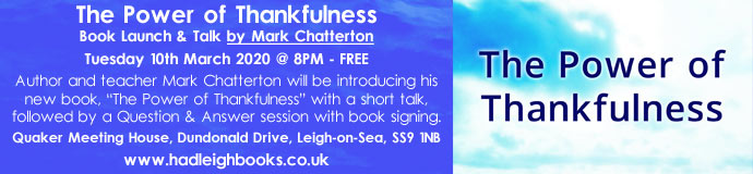 The Power of Thankfulness - Book Launch & Talk - Leigh-on-Sea
