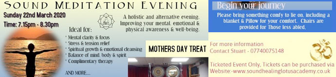 Gong Bath (Sound Meditation Evening) - HARROGATE/KNARESBOROUGH