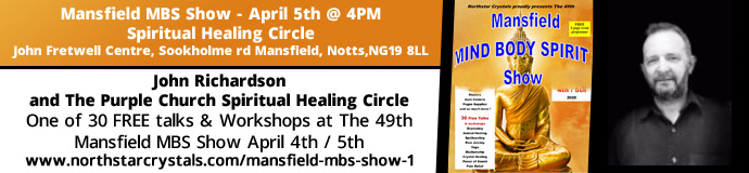 John Richardson and The Purple Church Spiritual Healing Circle