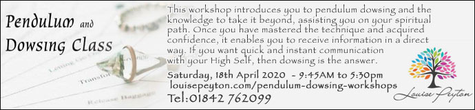 Pendulum Dowsing Workshop