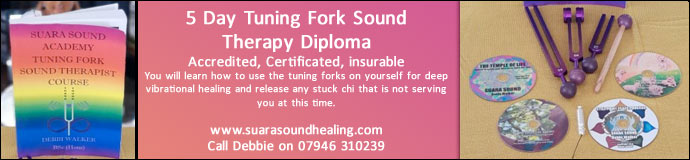 5 Day Tuning Fork Sound Therapy Diploma