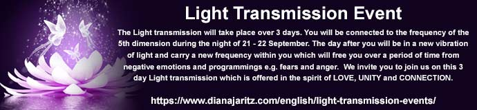 FREE 3 DAY Light Transmission on 20 - 22 September 2020