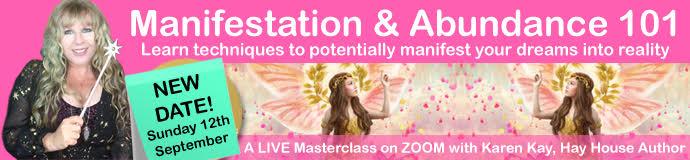 Manifestation & Abundance 101 - Online Live Masterclass - New Date