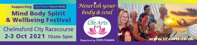 Chelmsford Mind Body Spirit & Wellbeing Festival